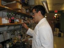Image of Cary Supalo in a lab coat