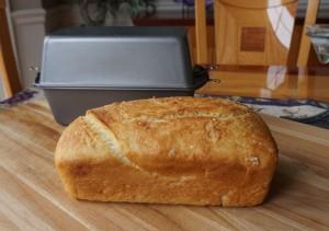Sandwich Bread Baked in a Poor Man's Dutch Oven
