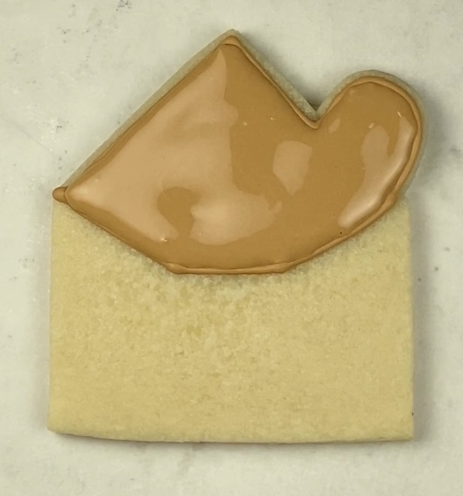 Fill will royal icing