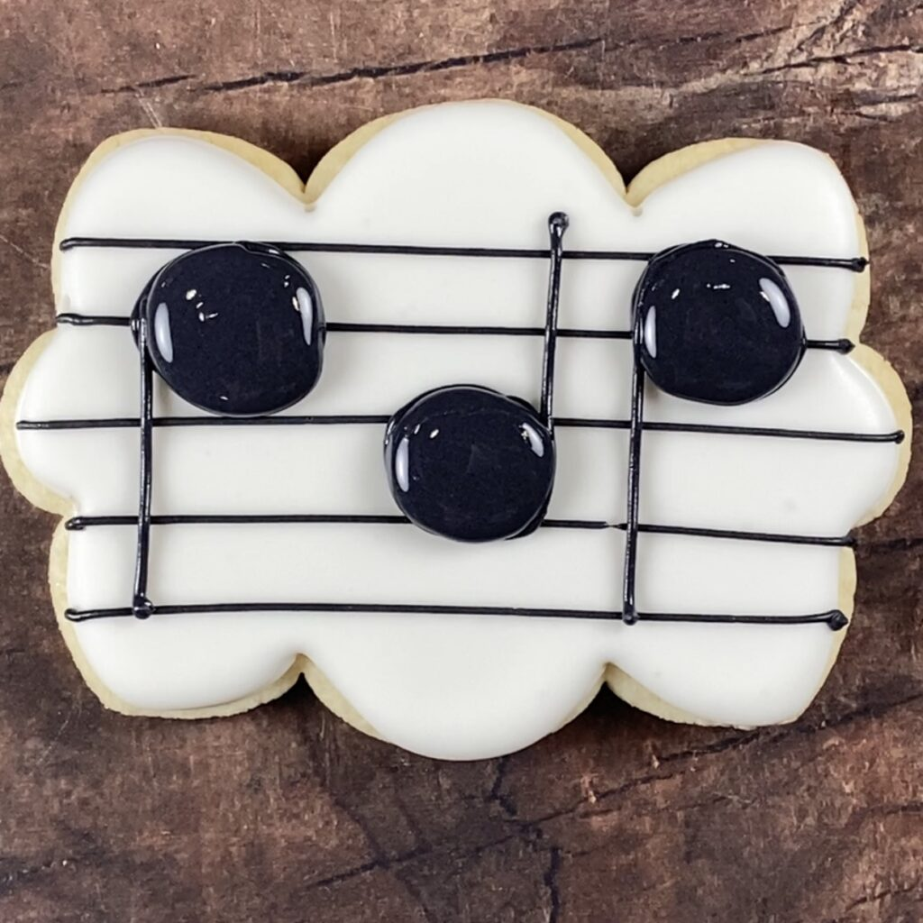 Fill musical notes