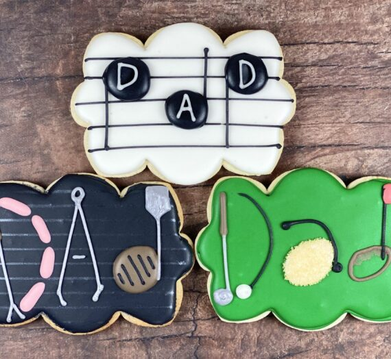 Personalized Father's Day Cookies