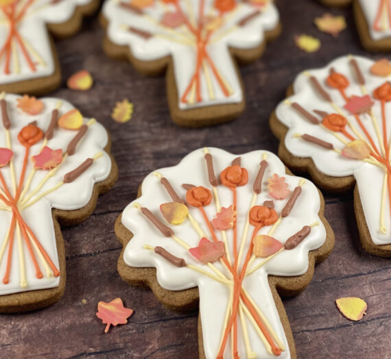Fall Bouquet Cookies