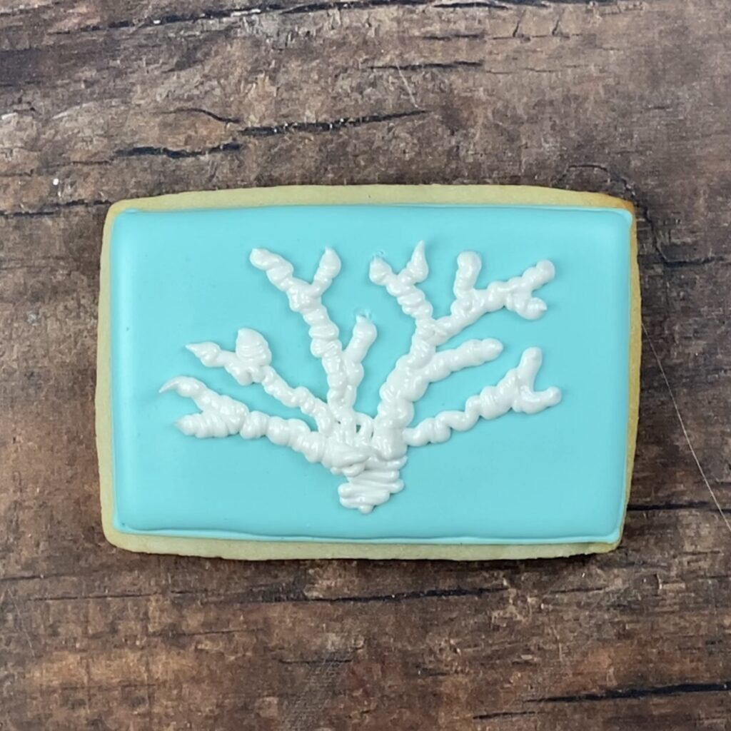 Pipe Coral for Life's a Beach Cookies