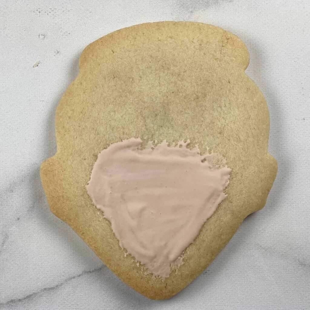 Face mask for Spa-tastic Birthday Cookies