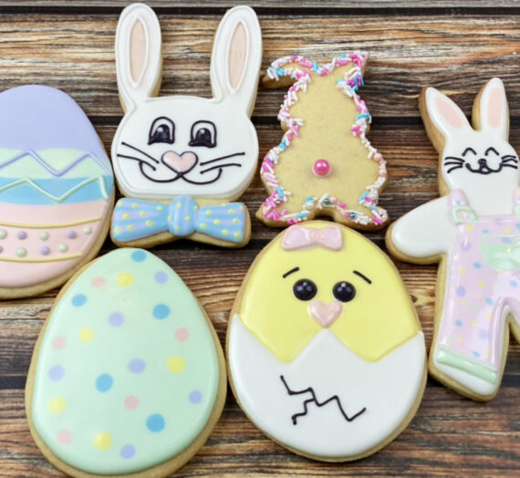 Easter Bunnies and Eggs 3 Ways