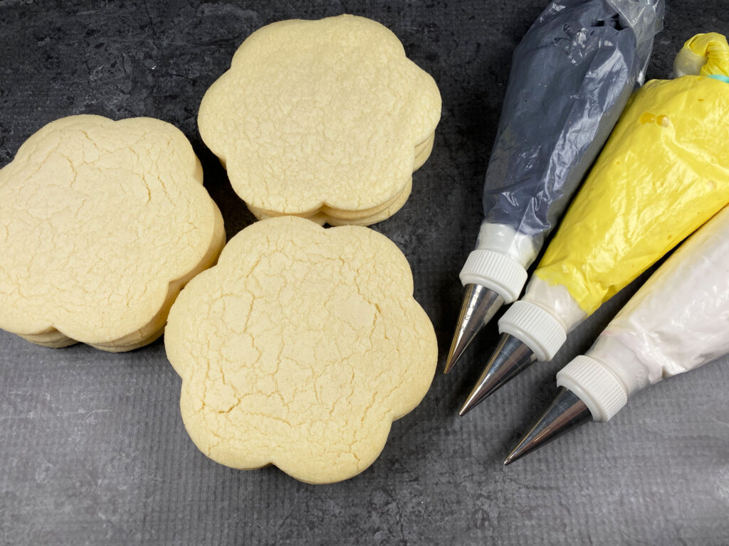 Supplies for Bee You Cookies
