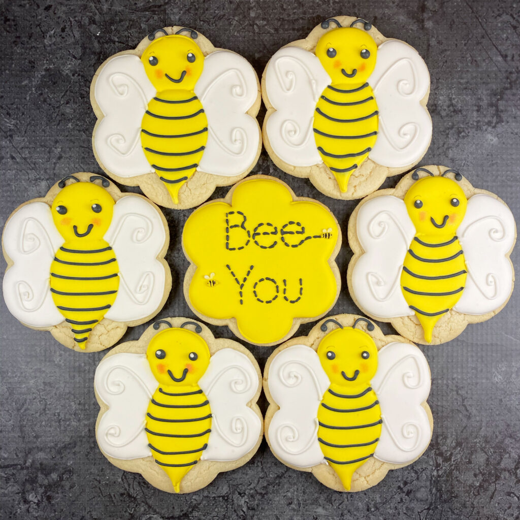 Bee You Cookie Circle