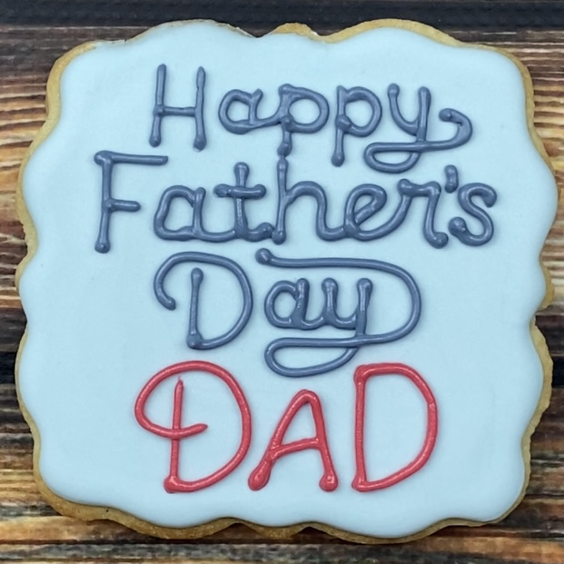 Have you thought about making cookies for Father's Day?