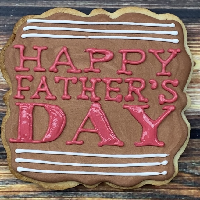 Have you thought about making cookies for fathers day?