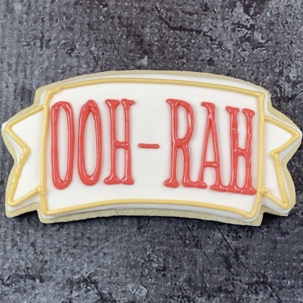 Add border for Ooh-rah cookie