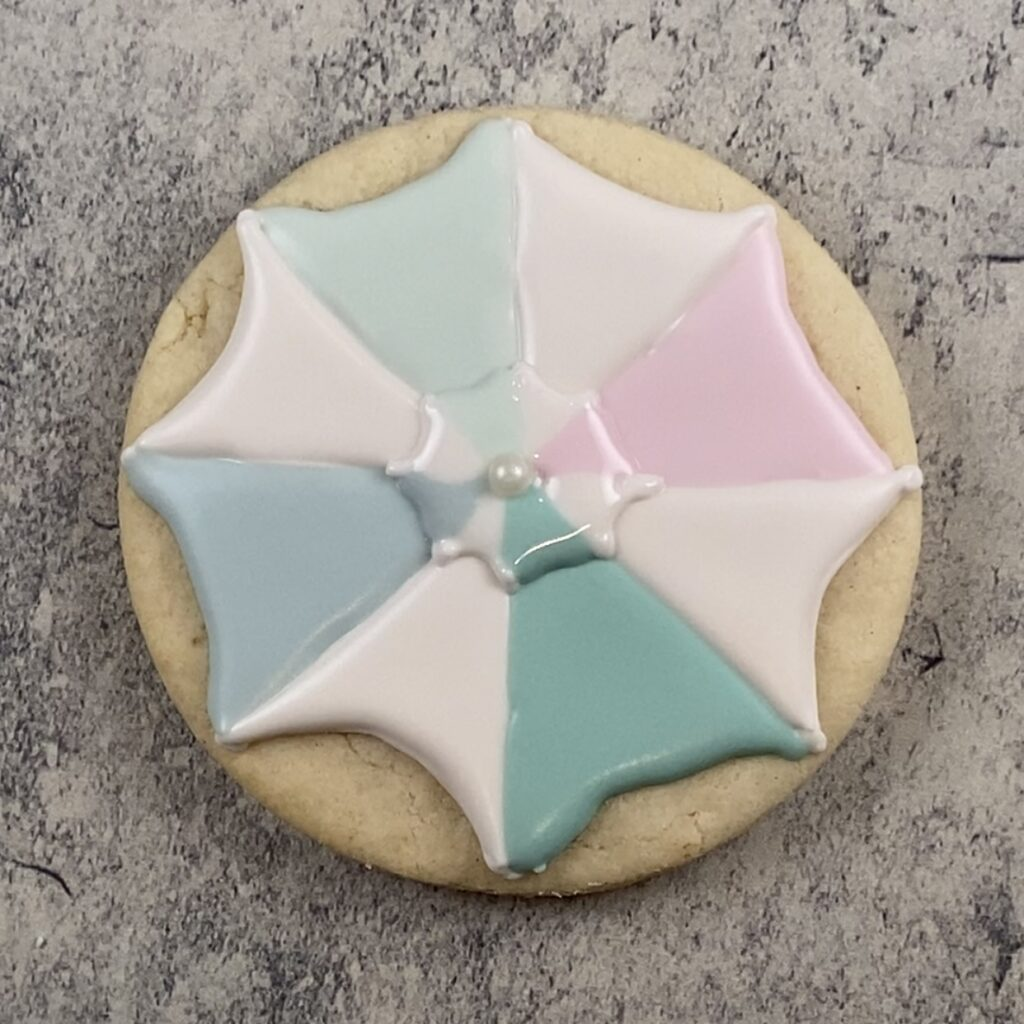 Add top section for umbrella cookie