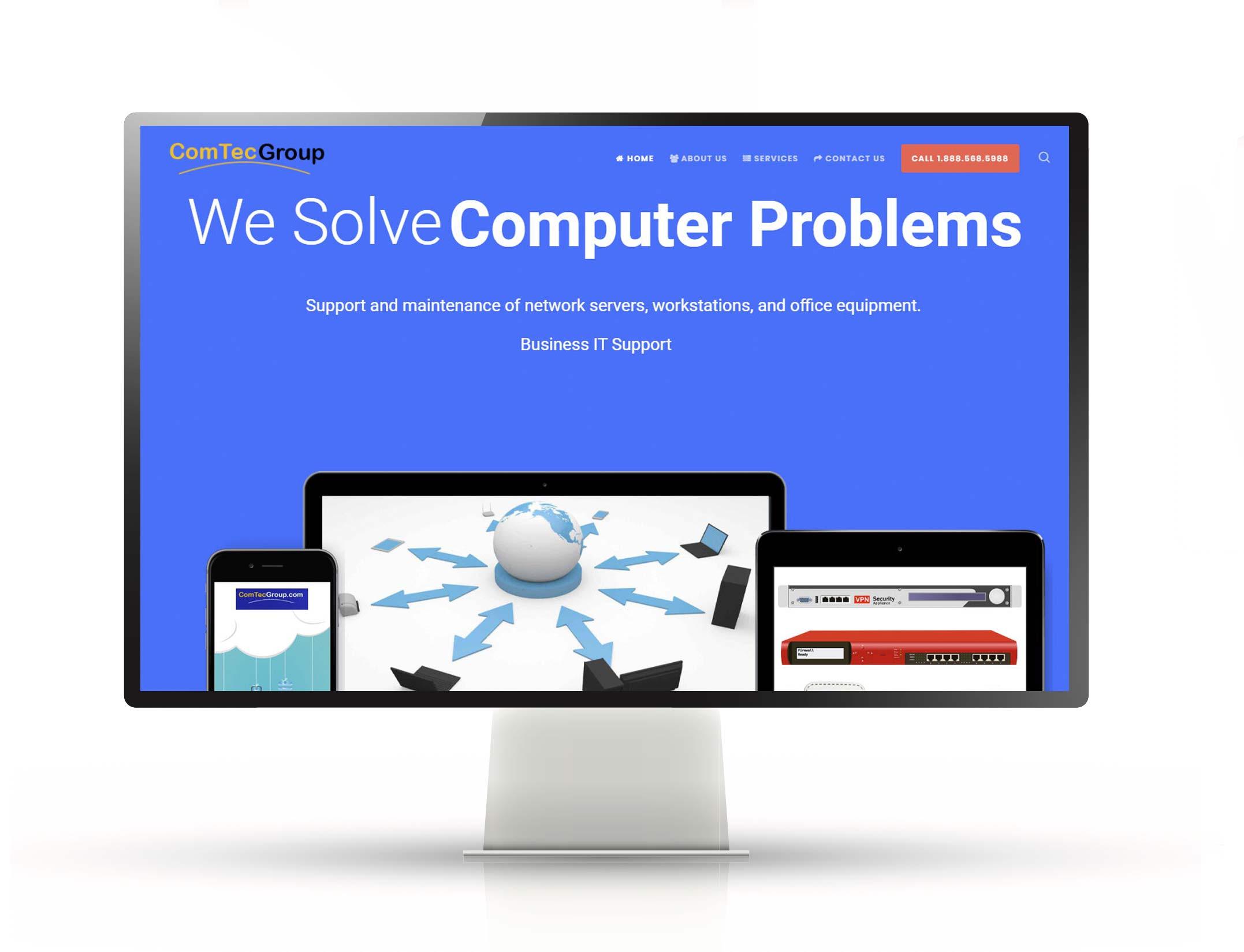 Website Design and Hosting   Comtec Group