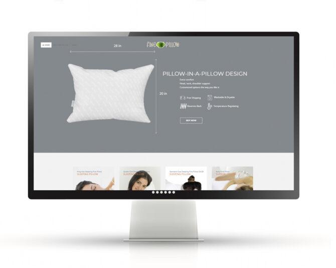 Full Service eCommerce Website | Fine Pillow
