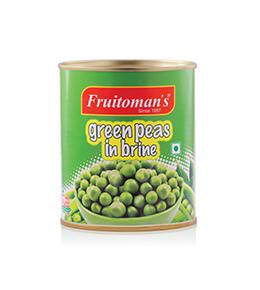 fruitomans green peas in brine