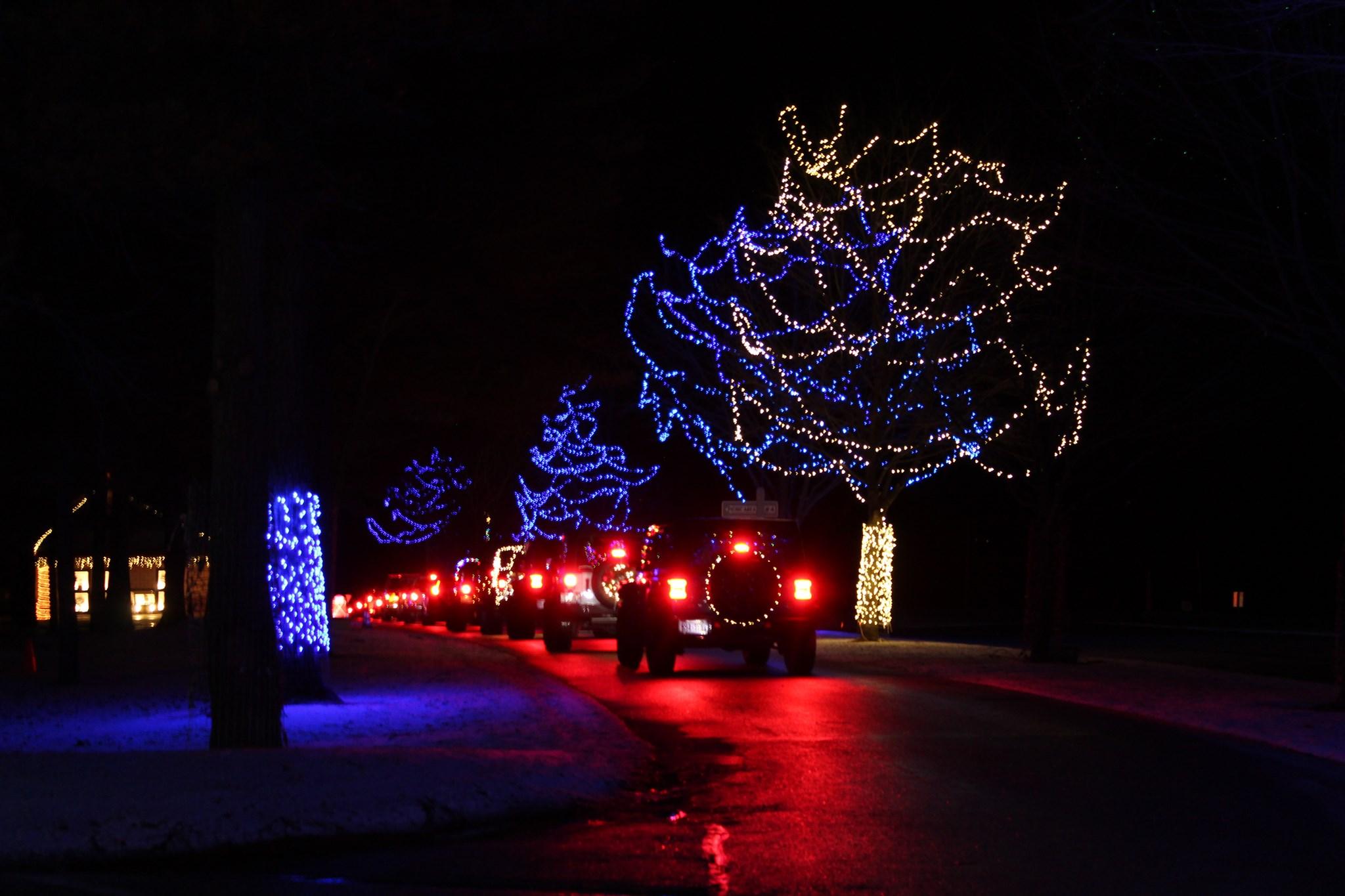 Holiday Night Light Ride