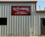 Ray Blackburns Shop Sign