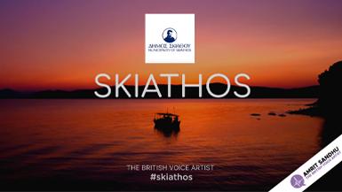 The British Voice Artist - Skiathos