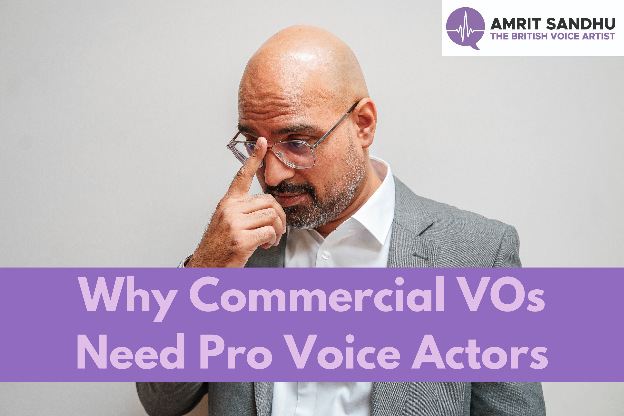 Why Your Commercial Needs a Pro Voice Actor