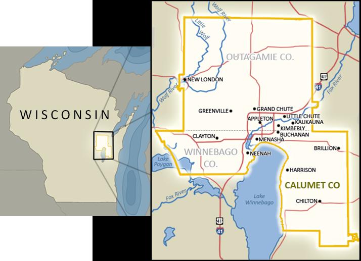 Fox Cities Regional Partnership--Service Area