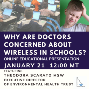 Wireless in School Dangerous
