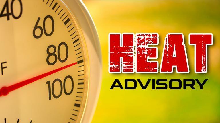 GPSW Heat Advisory