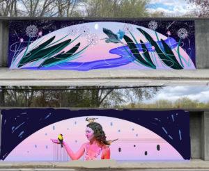 Saxonville Floodgates Murals