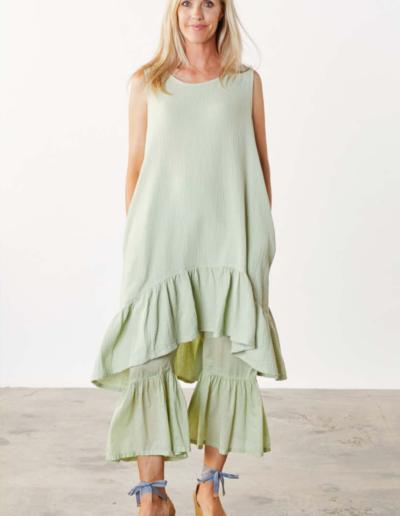 Bryn Walker - Spring, Summer 2022 Angelita dress and Ruffle pant