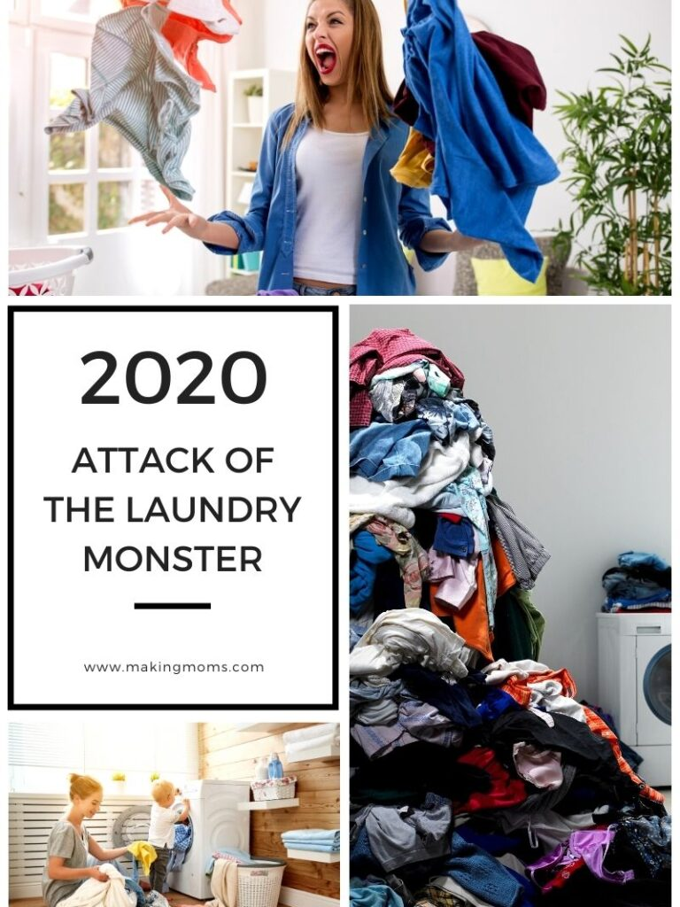Attack of the Laundry Monster