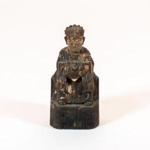 Shaman 'To Sai' a Zhu Zhong Fan, Shaman Priest Altar Figure Shelf-Top