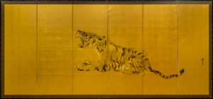 Six-Panel Gold Tiger Panel