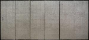 Six-Panel Silver Byobu