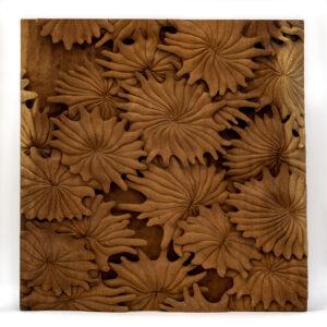 """Flowers"" Studio Carving, David Alan Original Design"
