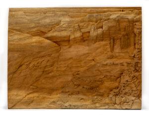 """""""Desert Canyon"""" Studio Carving, David Alan Original Design"""