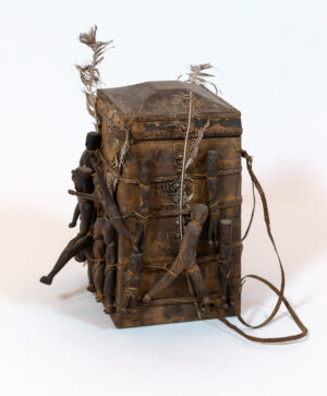 Indonesia Lupong Manang, Shaman Backpack Shelf-Top