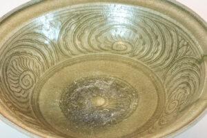 Ceramics Ming Dynasty Chinese Celadon Bowl Shelf-Top