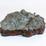 Suiseki (Japanese 'Landscape Scene' Stone)