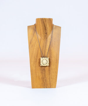 Hand Carved Tribal Pendant