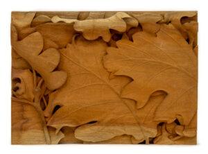 """""""Leaves"""" Studio Carving, David Alan Original Design"""
