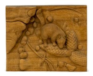 """Squirrel"" Studio Carving, David Alan Original Desing"