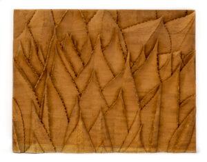 """Agave"" Studio Carving, David Alan Original Design"