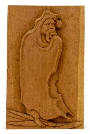 """Daruma"" Studio Carving, David Alan Original Design"