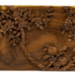 """Plum Tree"" Studio Carving, David Alan Original Desing"