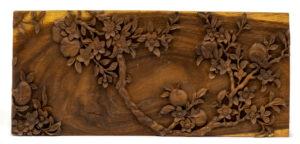 """Plum Tree"" Studio Carving, David Alan Original Desing"