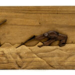 """Farming"" Studio Carving, David Alan Design"