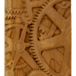 """Gears"" Studio Carving, David Alan Original Desing"