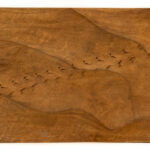 """Desert Tracks"" Studio Carving, David Alan Original Design"