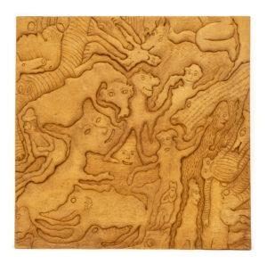 """Creature Collage"" Studio Carving, David Alan Original Desing"