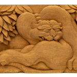 """Tiger"" Studio Carving, David Alan Original Design"