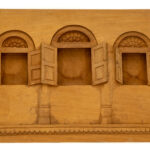 """3 Windows"" Studio Carving, David Alan Original Design"