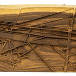 """River Bridge"" Studio Carving, David Alan Original Design"